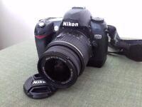 Nikon D70 6.1mp DSLR with Nikkor 18-55mm 1:3.5-5.6 G Lens