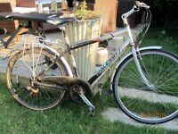 RALEIGH PIONEER METRO ALLOY HYBRID BIKE SPARES OR REPAIR