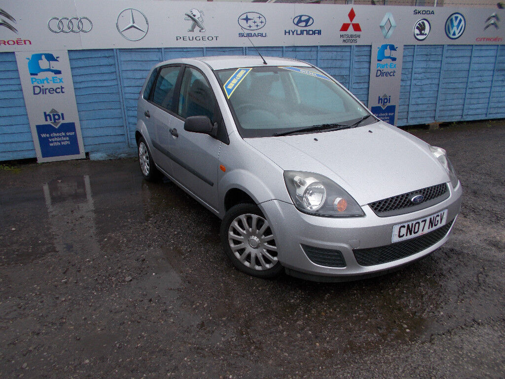 PART X DIRECT OFFERS THIS VERY CLEAN 1.4 DIESEL FIESTA WITH F.S.H AN 70K NEW MOT+SERVICE+WARRANTY !!