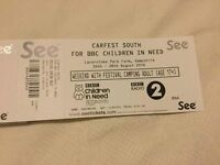 Car Fest South Adult Weekend Camping Ticket