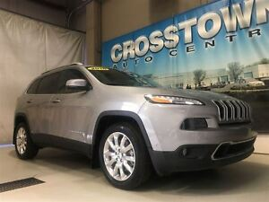 2016 Jeep Cherokee Limited | 2.4L I4 engine | 9-speed automatic