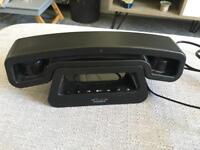 Swissvoice ePure Black Retro Cordless Home Phone