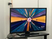 """32"""" Led Bush HD tv Freeview Hd Hdmi Usb excellent condition tv Not Smart tv"""