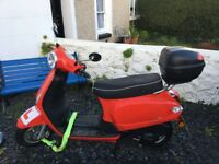 AJS Sorvio 125cc Automatic Moped