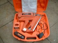 paslode im350 first fix cordless nail gun fires up to 90mm two per second