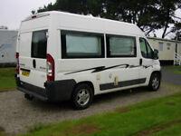 Peugeot Boxer Campervan , great condition 2 berth van