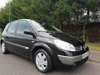 2006 RENAULT SCENIC DYNAMIQUE 1.6 VVT PETROL MPV EXCELLENT CONDITION THOUGHOUT NEW CLUTCH MOT MAY 17