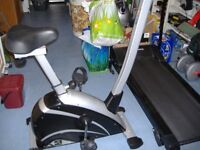 V-fit Exercise Bike. As new condition. Very little use since new.