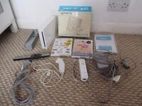 Bundle Nintend Wii with games, charger etc All Genuine