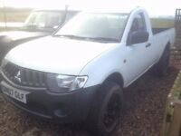 Mitsubishi L200 Single Cab 4Work