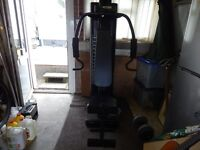 PRO ACTION MULTI GYM IN VERY GOOD CONDITION.