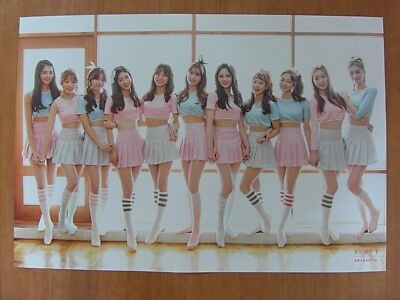 I.O.I - Chrysalis 1st Mini Album (Ver. B) GLOSSY [OFFICIAL] POSTER  *NEW* IOI