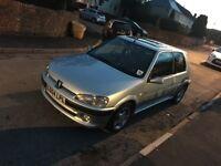 Peugeot 106 Gti late registered 2004