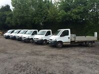 VAUXHALL MOVANO 2.5 DIESEL DROPSIDE & TIPPER TRUCKS 2007/2008 FULL SERVICE HISTORY *CHOICE OF 10*