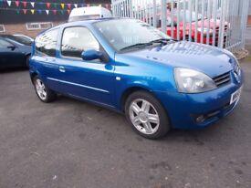 Renault Clio 1.2 Campus Sport Hatchback 3dr 3 MONTHS WARRANTY 2006