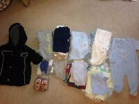 Assorted bundle of baby boy clothes Age 0-12 months