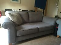 Large 2 seater sofa with memory foam! and a large armchair
