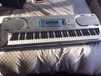 Casio WK-3000 Electric Keyboard - Stand, Cover, Manual Included