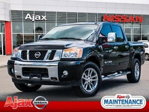 2014 Nissan Titan SL*Navigation*Leather*Accident Free