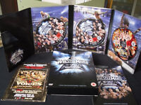 Wrestlemania 25th Anniversary DVD 3 DISC SET PLUS BOOK £5
