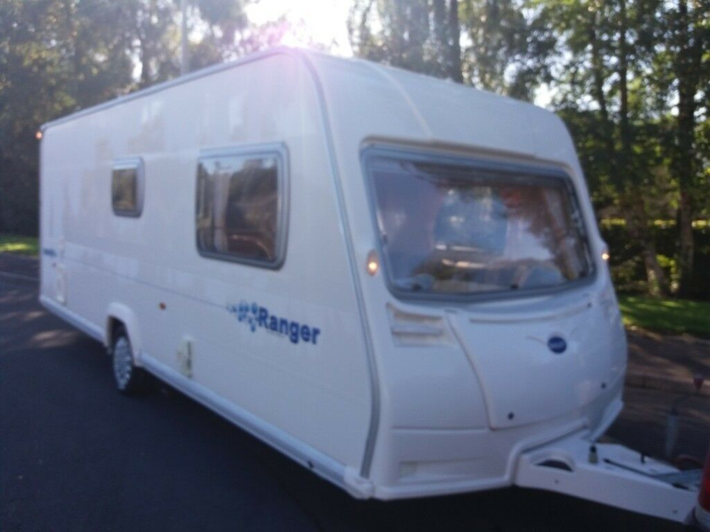 Bailey Ranger 6 berth 2007 family caravan with awning and the rest of