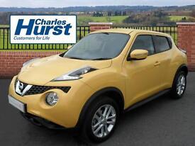 Nissan Juke ACENTA XTRONIC (yellow) 2015-02-09