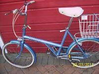 RALEIGH SHOPPER VINTAGE FROM THE 80s VERY GOOD CONDITION
