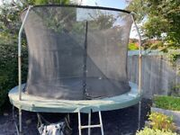 JumpKing 12ft trampoline and safety net
