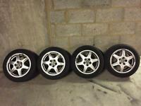 VW GOLF MK3 BBS SOLITUDE 15'' ALLOYS