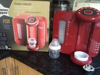 red new perfect prep machine