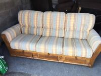 COTTAGE 3 SEATER SOFA WITH UNDER STORAGE,CAN DELIVER