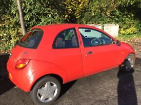 2002 Ford KA Collection, red - low mileage (53000), 2 owners, trusty run around