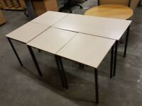 Set of 5 Small Office Tables
