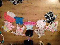 Baby Girls Cloths size 0-3 months