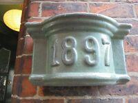 Green Ceramic Pot Wall Planter. (Homebase)