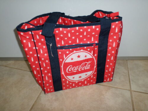 forever collectibles coca cola tote bag red