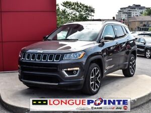 2017 Jeep Compass Limited-  GPS - CUIR - JANTE - BLUETOOTH