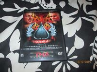 TNA WRESTLING AGAINST ALL ODDS 2005 DVD 2 DISCS HAVE OTHER WRESTLING DVDS FOR SALE