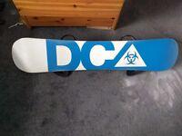 DC Snowboard 149 + Burton Bindings