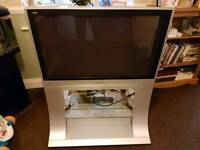 "Panasonic Viera 37"" Plasma TV and Stand"