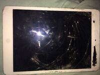 iPad mini smashed screen