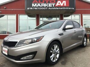 2013 Kia Optima EX, Leather, Alloys, Sunroof, WE APPROVE ALL CRE