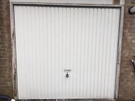 Garage door for sale. Non electric, internal lock. Very good condition.