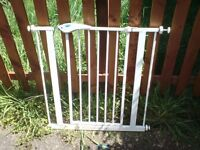 2 METAL STAIR OR DOOR GATES