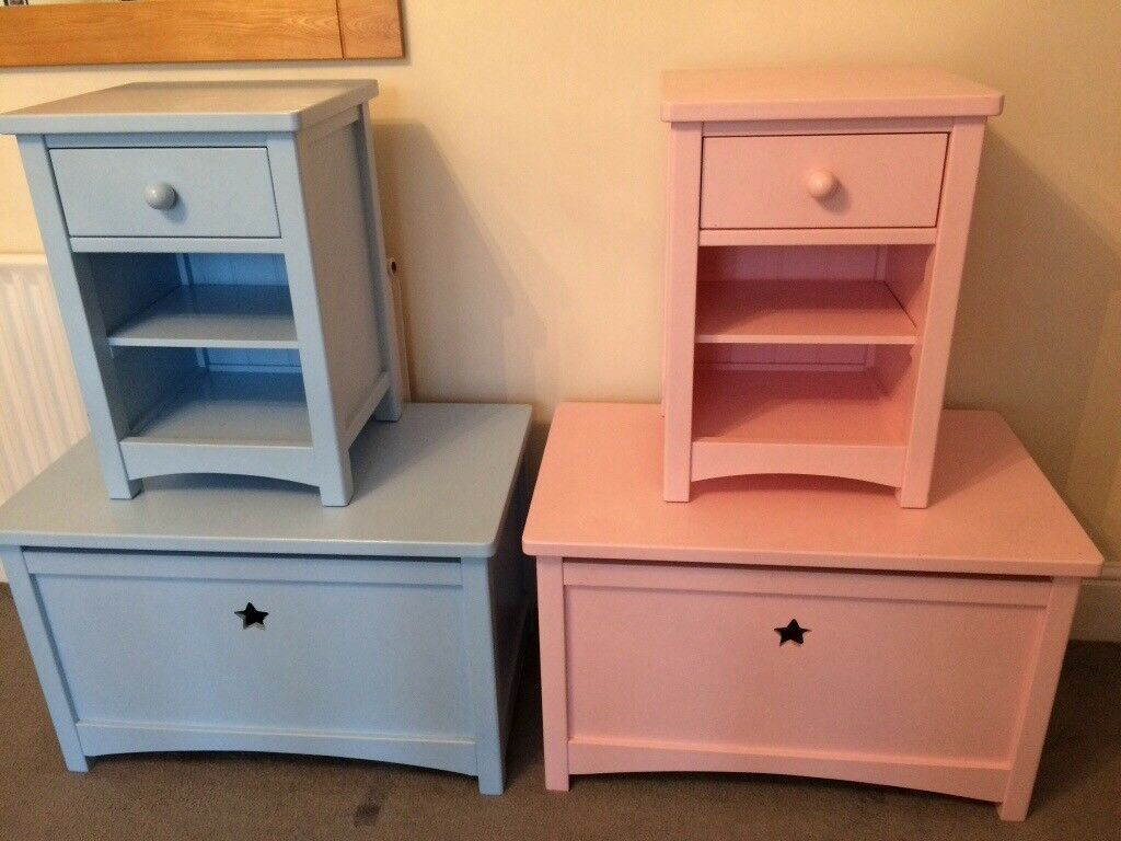 Feather Black Noah Children S Bedroom Furniture In Limited Edition Blue And Pink