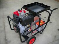 200amp Diesel mobile welder generator electric start & A.V.R.