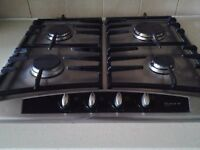 NEFF 4 ring Stainless Steel Gas Hob - EXCELLENT CONDITION £80 (ONO)