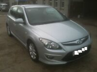 60 PLATE HYUNDAI I30 COMFORT DIESEL AUTOMATIC 5DR 32000MILES £5250