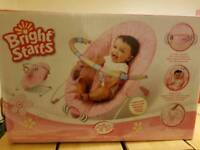 Pink Baby bouncer for sale