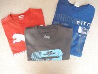 3 x MEN'S T-SHIRTS (Abercrombie & Fitch, Puma & Tresnormal)